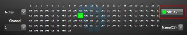 MIDI learn mode